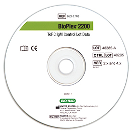 BioPlex<sup>&reg;</sup> 2200 ToRC IgM Control Set CD
