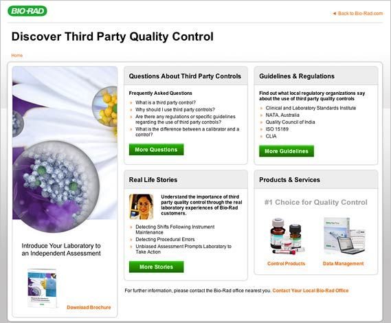 Third Party Quality Control from Bio-Rad