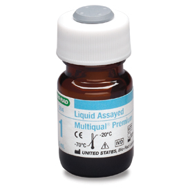 Liquid Assayed Multiqual® Premium, Level 1 #284