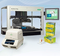 iQ-Check Prep Automated Sample Processing Robotic System