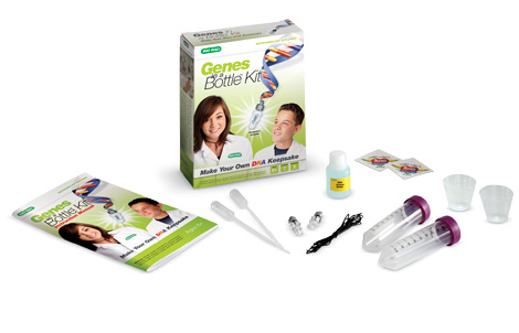Genes in a Bottle Home Science Kit