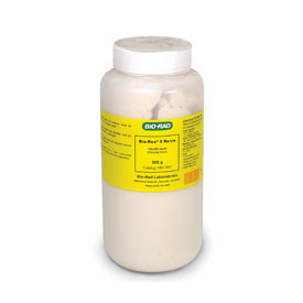 Bio-Rex™ 5 Anion Exchange Resin, analytical grade, 100-200 mesh, chloride form, 500 g