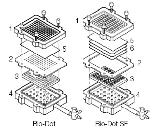 Bio-Dot Apparatus Assembly