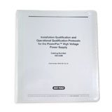 PowerPac HV IQ/OQ Protocol Binder and Test Box #164-5098