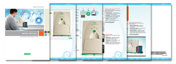 Gel Doc EZ System Interactive Brochure
