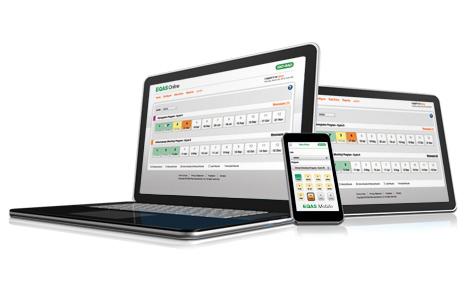 EQAS<sup>&reg;</sup> Online/Mobile