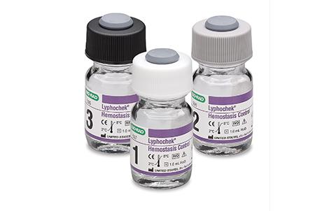Lyphochek Hemostasis Control