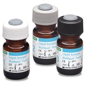 Liquid Assayed Multiqual® Premium, Trilevel MiniPak  #285X