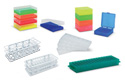 Storage Boxes and Plastic Racks