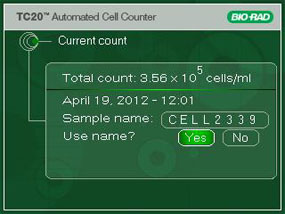 Tc20 Automated Cell Counter Life Science Research Bio Rad