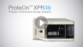 ProteOn XPR36 Interaction Array System - Protein Interaction Analysis